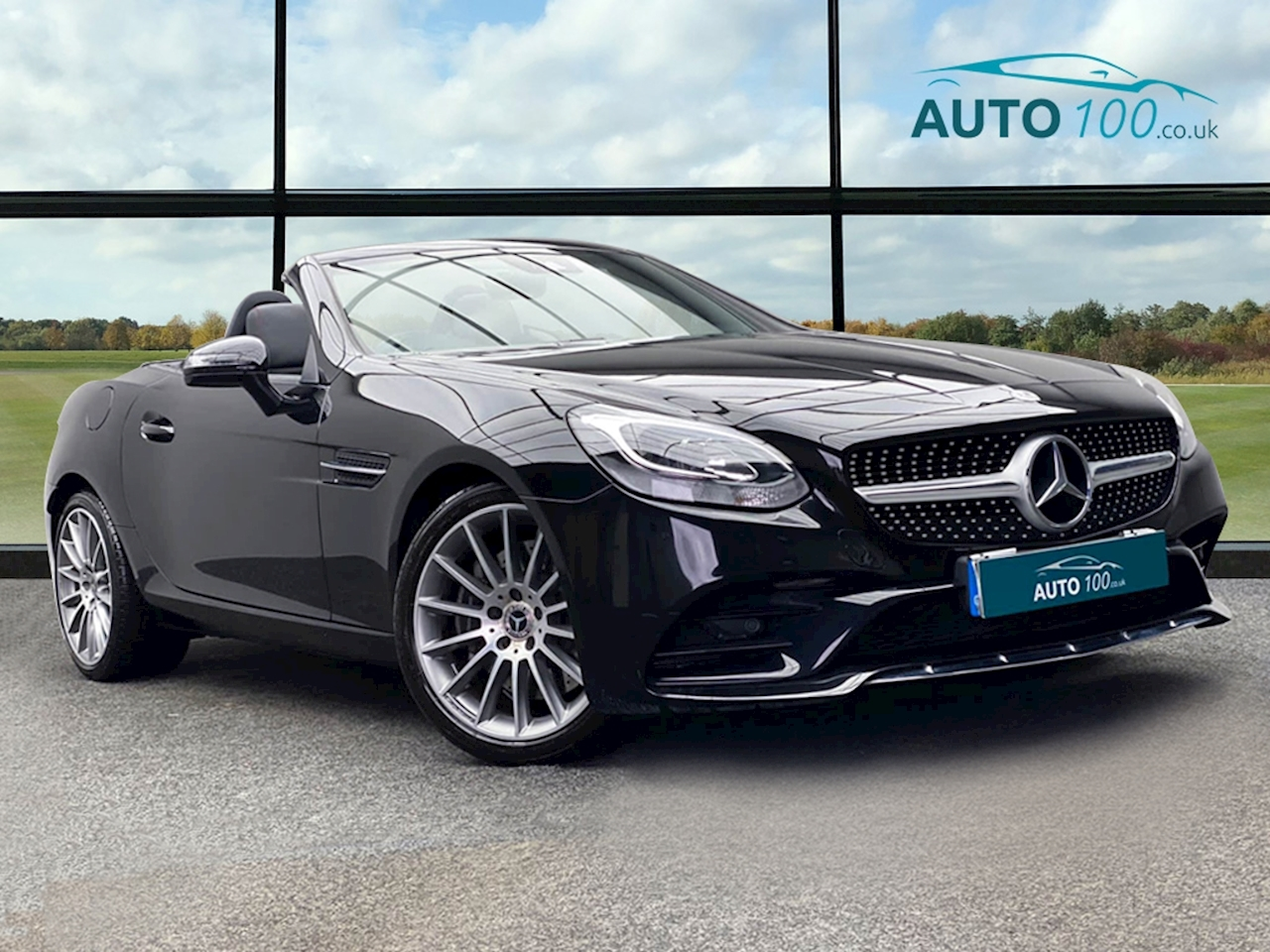 Mercedes-Benz SLC AMG Line Convertible 2.1 G-Tronic Diesel