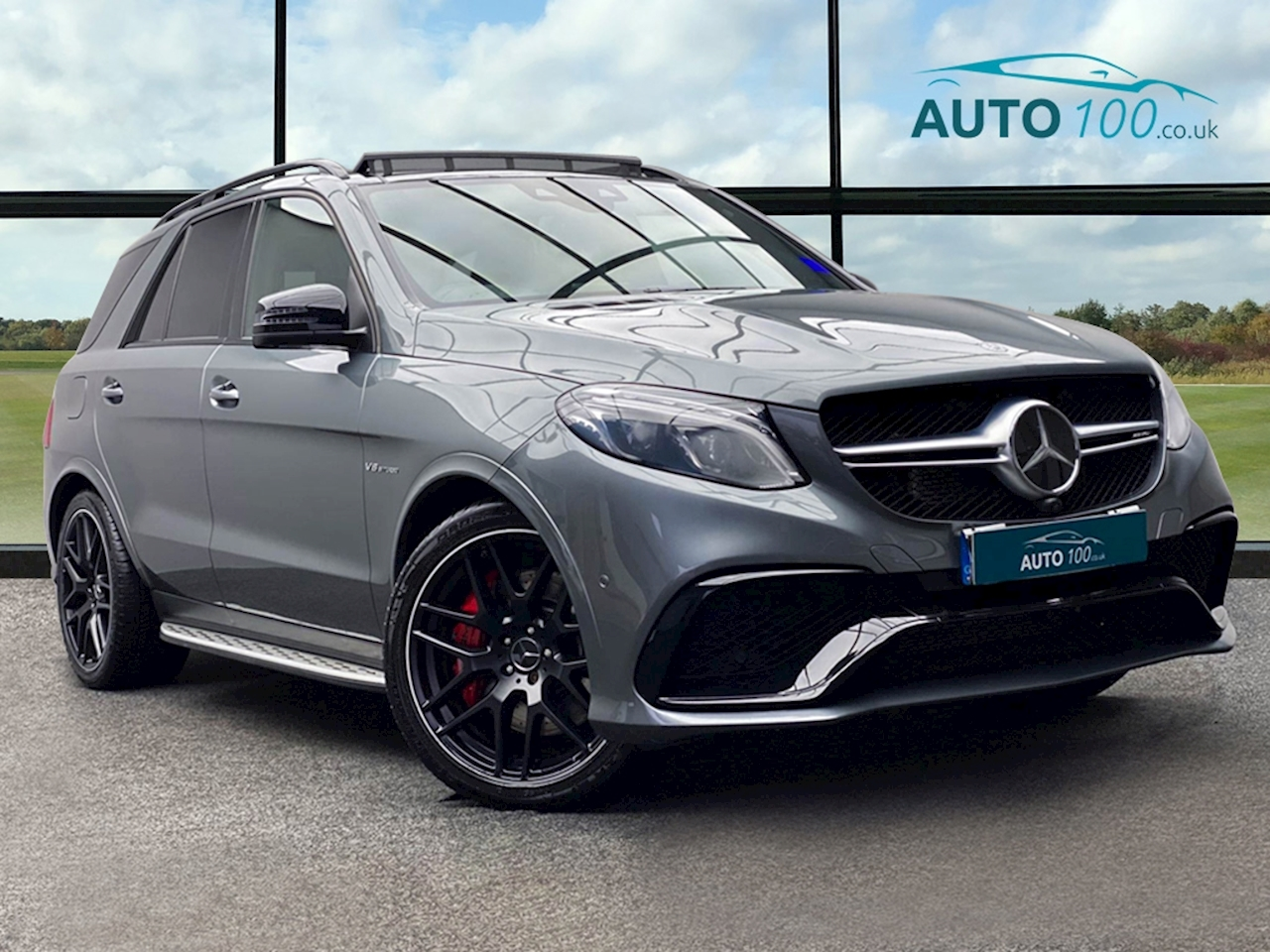 Mercedes-Benz 5.5 GLE63 V8 AMG S Night Edition SUV 5dr Petrol SpdS+7GT 4MATIC (s/s) (585 ps)