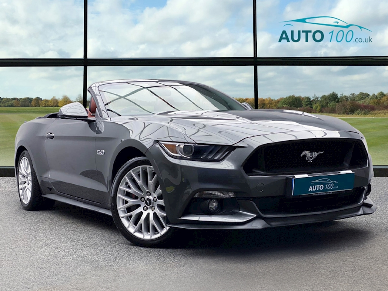 Ford 5.0 V8 GT Convertible 2dr Petrol SelShift (416 bhp)