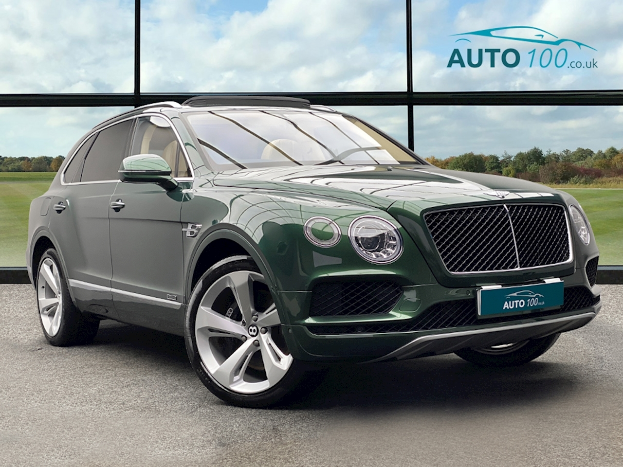 Bentley 4.0d V8 SUV 5dr Diesel Auto 4WD (s/s) 5 Seat (435 ps)