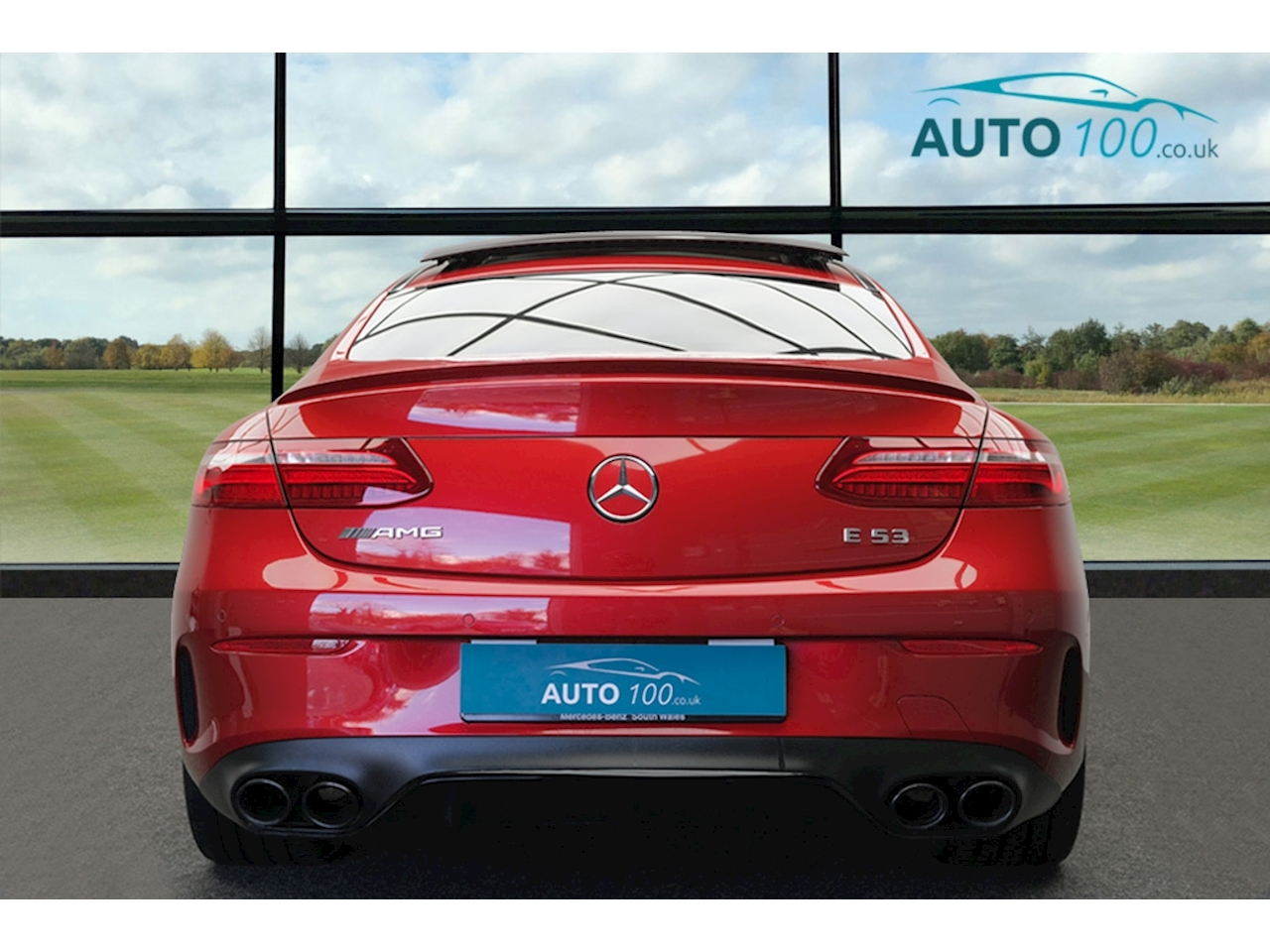 Mercedes-Benz 3.0 E53 EQ Boost AMG Coupe 2dr Petrol SpdS TCT 4MATIC+ (s/s) (457 ps)