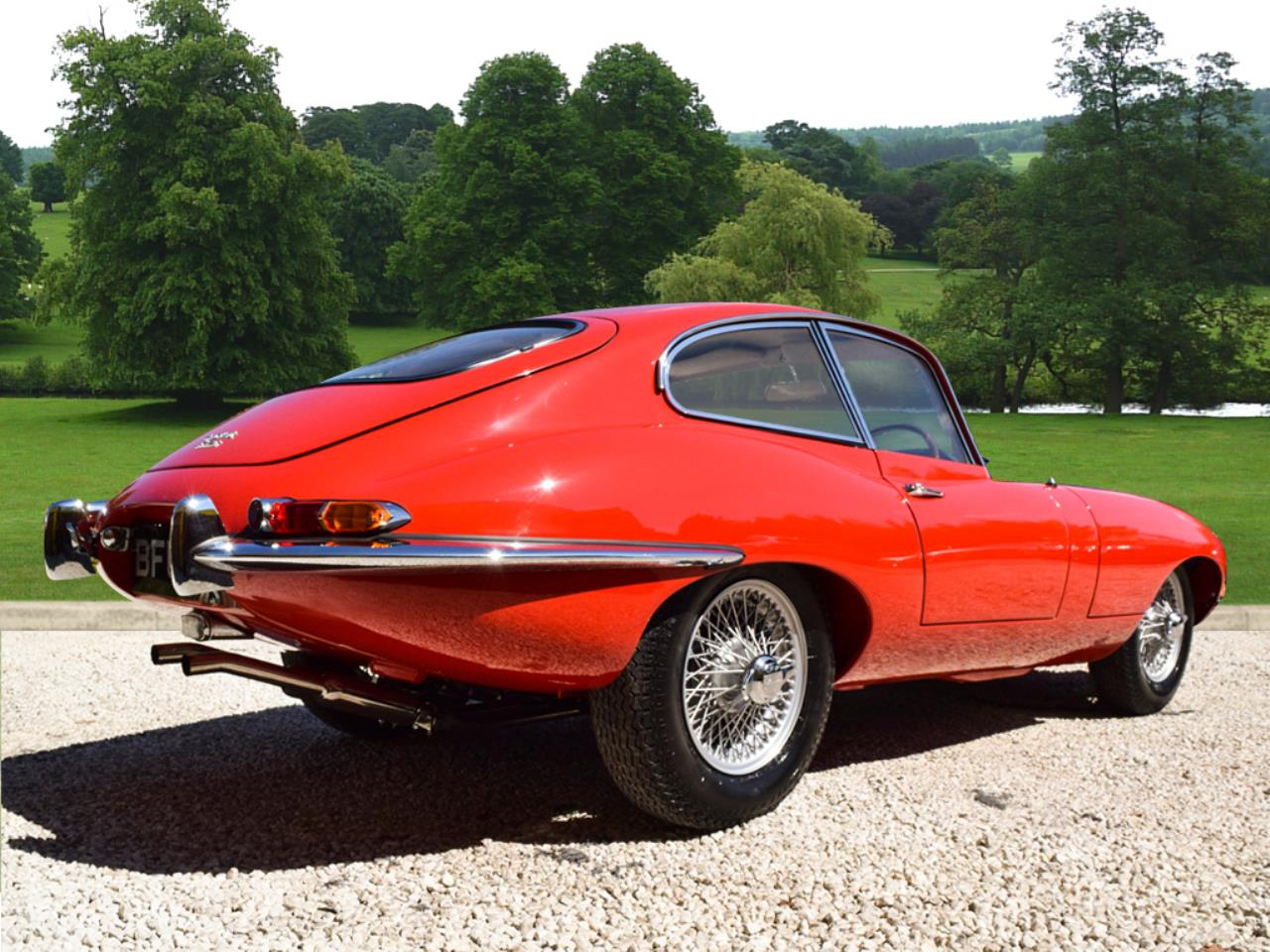 Jaguar 'e' Type 3.8 Coupe Petrol