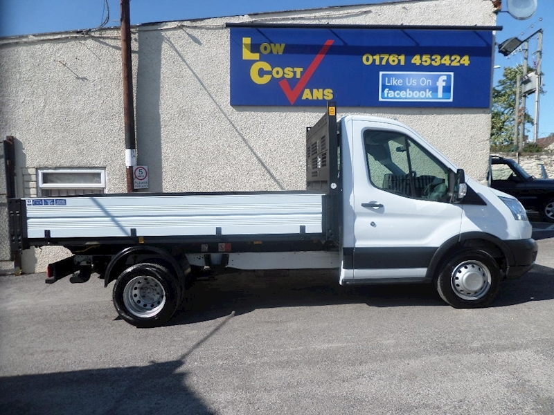Ford Transit 350 Tipper Single Cab Alloy 125 1 Stop