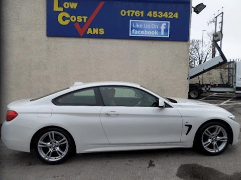4 Series 420D M Sport Coupe 2.0 Automatic Diesel Red Dakota Leather Seats