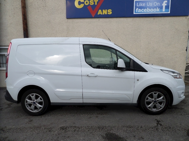 Transit Connect 200 Limited L1 H1 115 6 Spd 3 Seats 1.6 5dr Panel Van Manual Diesel
