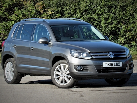 Volkswagen Tiguan Match Edition Tdi Bmt 4Motion Dsg Estate 2.0 Semi Auto Diesel