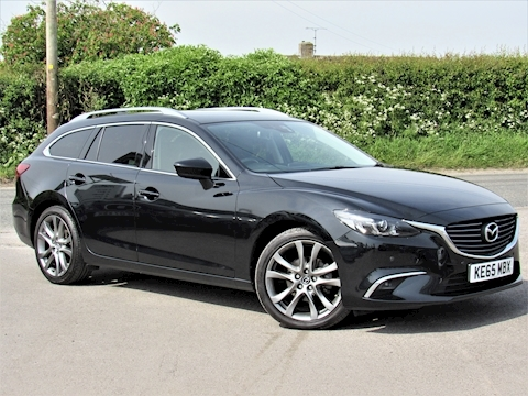 Mazda Mazda 6 D Sport Nav Estate 2.2 Manual Diesel