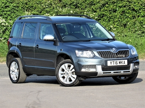 Skoda Yeti Outdoor Se L Tdi Scr Hatchback 2.0 Manual Diesel