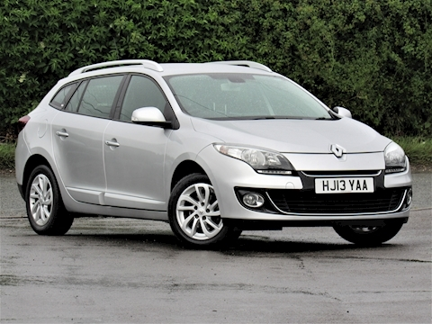 Renault Megane Dynamique Tomtom Dci S/S Estate 1.5 Manual Diesel