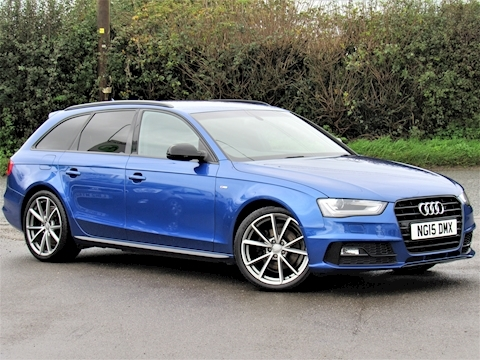 Audi A4 Avant Tdi S Line Black Edition Nav Estate 2.0 Manual Diesel