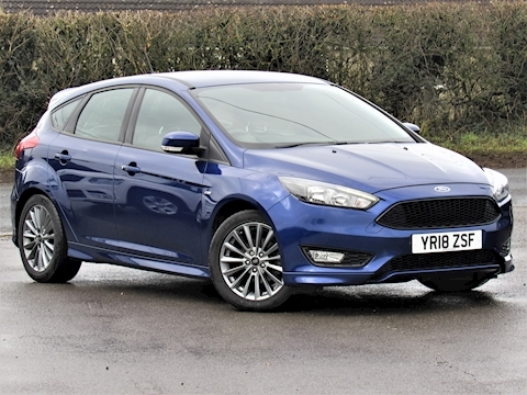 Ford Focus ST-Line Hatchback 1 Manual Petrol