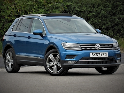 Volkswagen Tiguan Sel Tdi 2.0 150 5dr Estate Manual Diesel