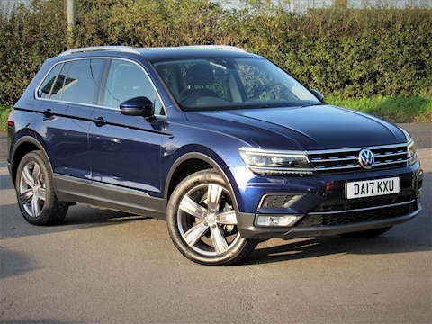 Volkswagen Tiguan Sel Tdi Bluemotion Technology 4Motion Dsg 2.0 5dr Estate Semi Auto Diesel