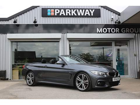4 Series 420D M Sport Convertible 2.0 Manual Diesel
