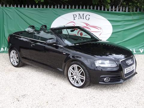 A3 Tdi S Line Convertible 2.0 Manual Diesel