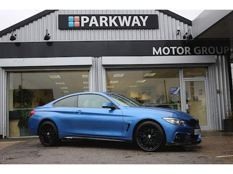 4 Series 420D Xdrive M Sport Coupe 2.0 Automatic Diesel