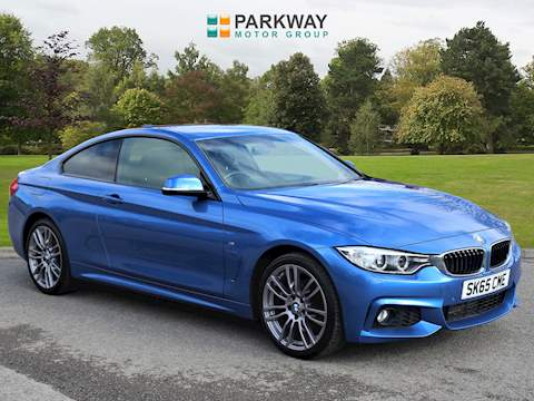 4 Series 420d xDrive M Sport Coupe 2 2dr Coupe Automatic Diesel
