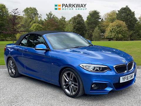 2 Series 220i M Sport Convertible 2.0 2dr Convertible Automatic Petrol