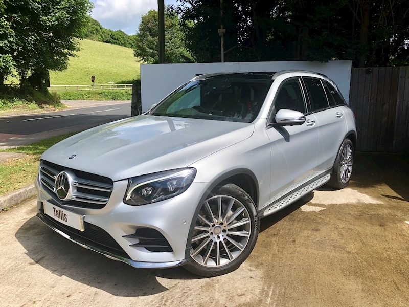Glc-Class Glc 250 D 4Matic Amg Line Premium Plus Estate 2.1 Automatic Diesel