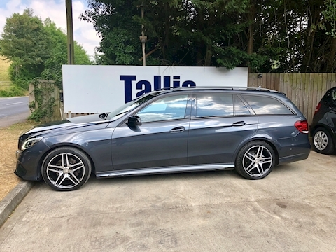 E Class E300 Bluetec Hybrid Amg Night Edition Estate 2.1 Automatic Diesel/Electric