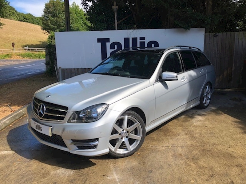 C Class C220 Cdi Amg Sport Edition Premium Plus Estate 2.1 Automatic Diesel