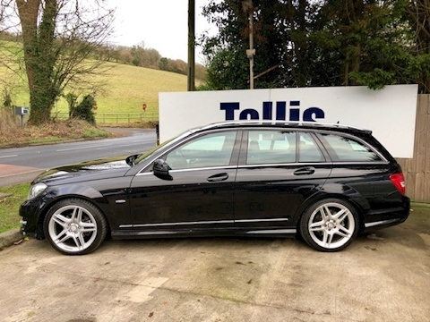 C Class C220 Cdi Blueefficiency Sport Estate 2.1 Automatic Diesel