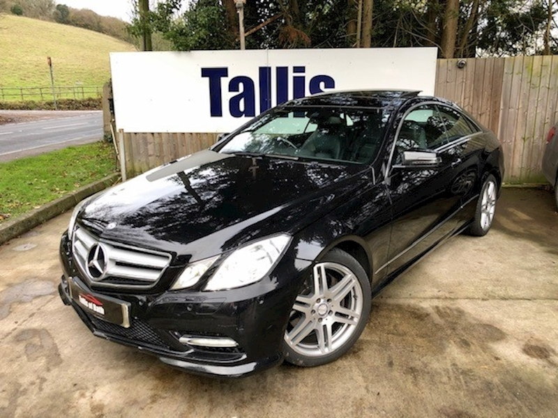 E Class E350 Cdi Blueefficiency Sport Coupe 3.0 Automatic Diesel
