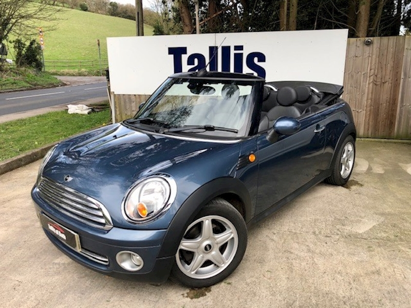 Mini Cooper Convertible 1.6 Automatic Petrol