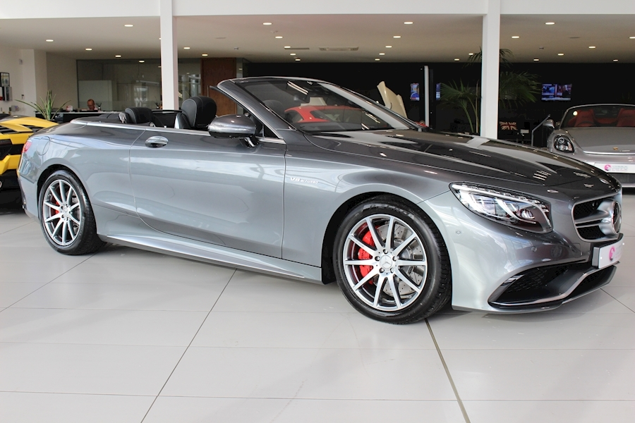 Mercedes-Benz S Class Amg S 63 Convertible 5.5 Automatic Petrol