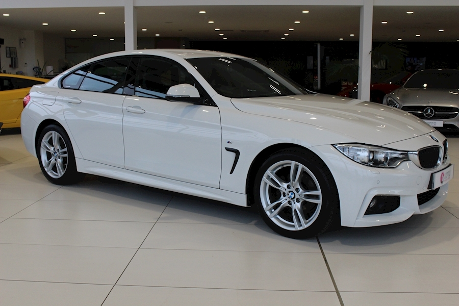 Bmw 4 Series 418D M Sport Gran Coupe - Large 0