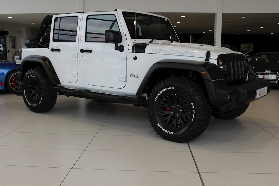 Jeep Wrangler Crd Jk Edition Unlimited Convertible 2.8 Automatic Diesel