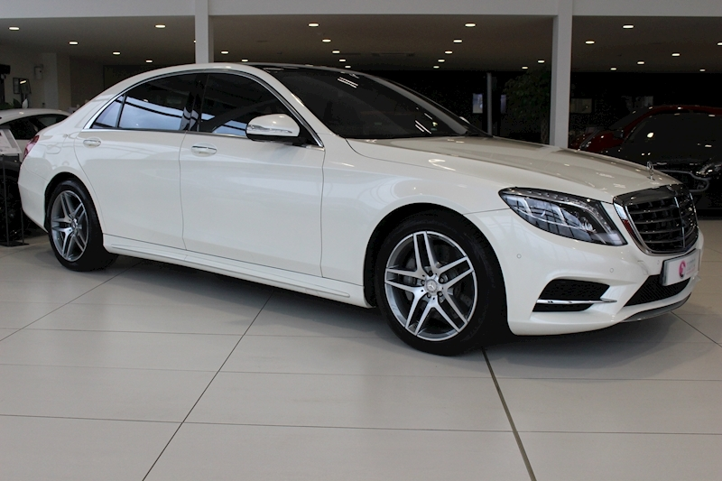 Mercedes-Benz S Class S 500 E L Amg Line Saloon 3.0 Automatic Petrol/Electric