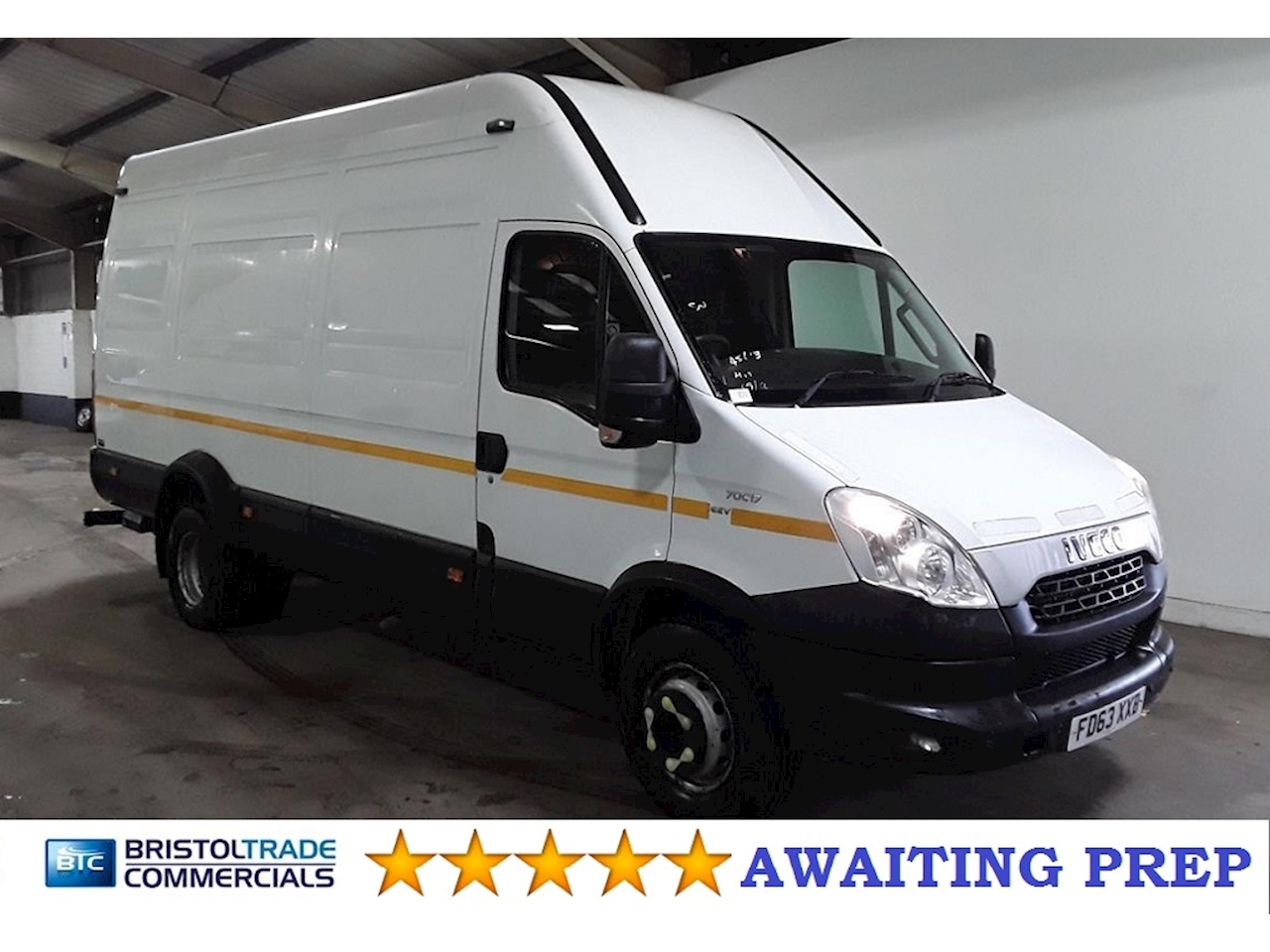 Iveco Daily 70C17 3.0  Manual Diesel 7 Tonne GVW