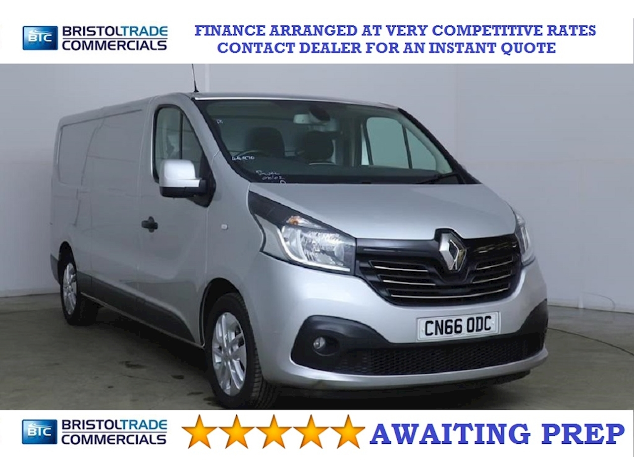 Renault 1.6 dCi ENERGY 29 Sport Panel Van 5dr Diesel Manual LWB Standard Roof EU5 (s/s) (120 ps)