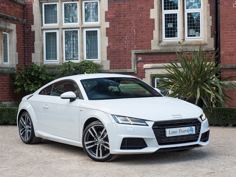 Tt Tfsi S Line Coupe 2.0 Manual Petrol With Virtual Cockpit