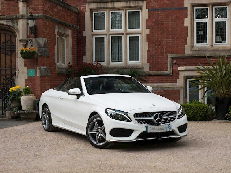 C Class C 200 Amg Line 2.0 2dr Convertible Automatic Petrol
