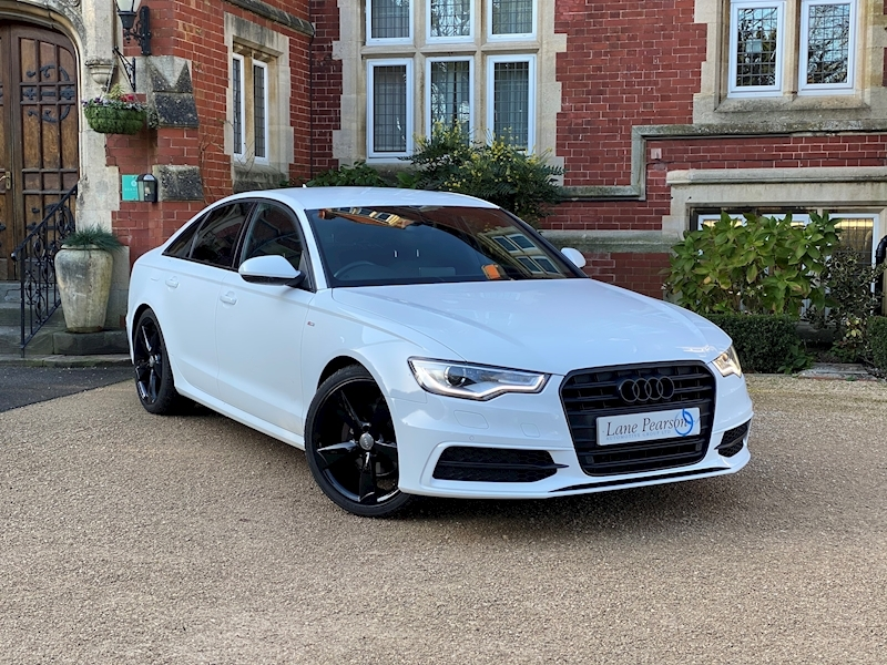 A6 Tdi S Line Black Edition Saloon 2.0 Manual Diesel