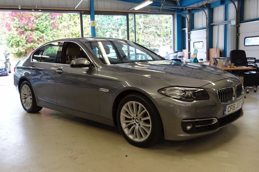 5 Series 535D Luxury Saloon 3.0 Automatic Diesel