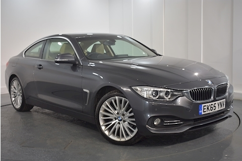 Bmw – 4 Series 420D Xdrive Luxury Coupe 2.0 Automatic Diesel (2015)