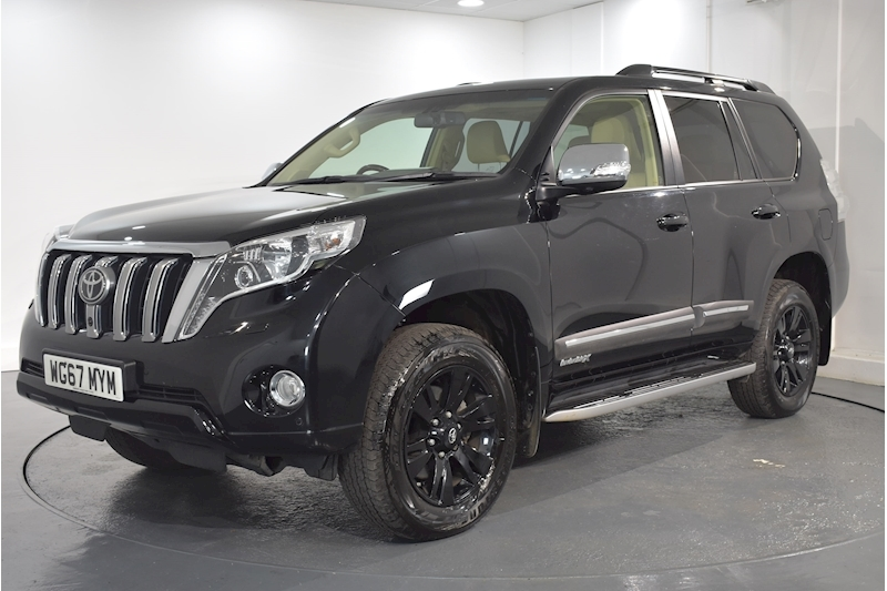 Land Cruiser D-4D Invincible X 2.8 5dr SUV Automatic Diesel