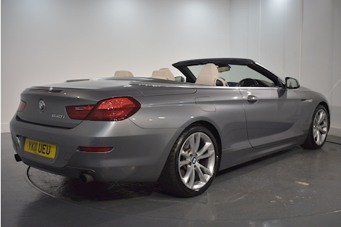 Bmw – 6 Series 640I Se Convertible 3.0 Automatic Petrol (2011) full