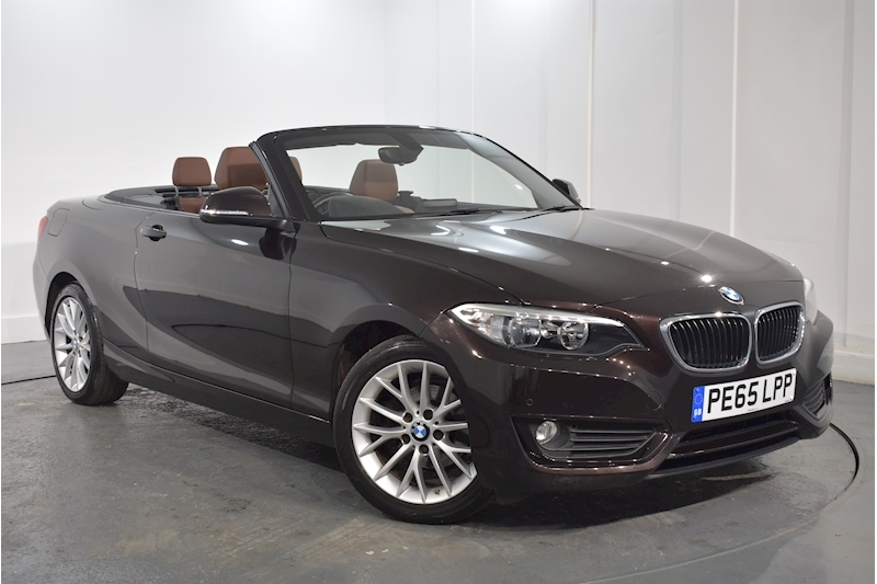 Bmw – 2 Series 218I Se Convertible 1.5 Manual Petrol (2015) full