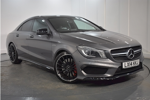 Mercedes-Benz – Cla Cla45 Amg 4Matic 2.0 4dr Coupe Automatic Petrol (2014)