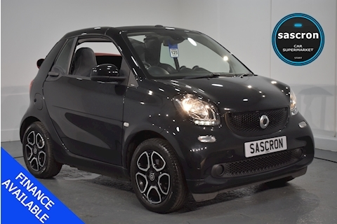 Smart – fortwo Prime 0.9 2dr Cabriolet Twinamic Petrol (2016)