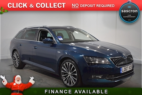 SKODA – 2.0 TSI Laurin & Klement Estate 5dr Petrol DSG (s/s) (220 ps) (2018) full